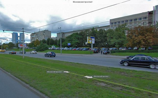 Участок дороги по Московскому проспекту г. Калининграда